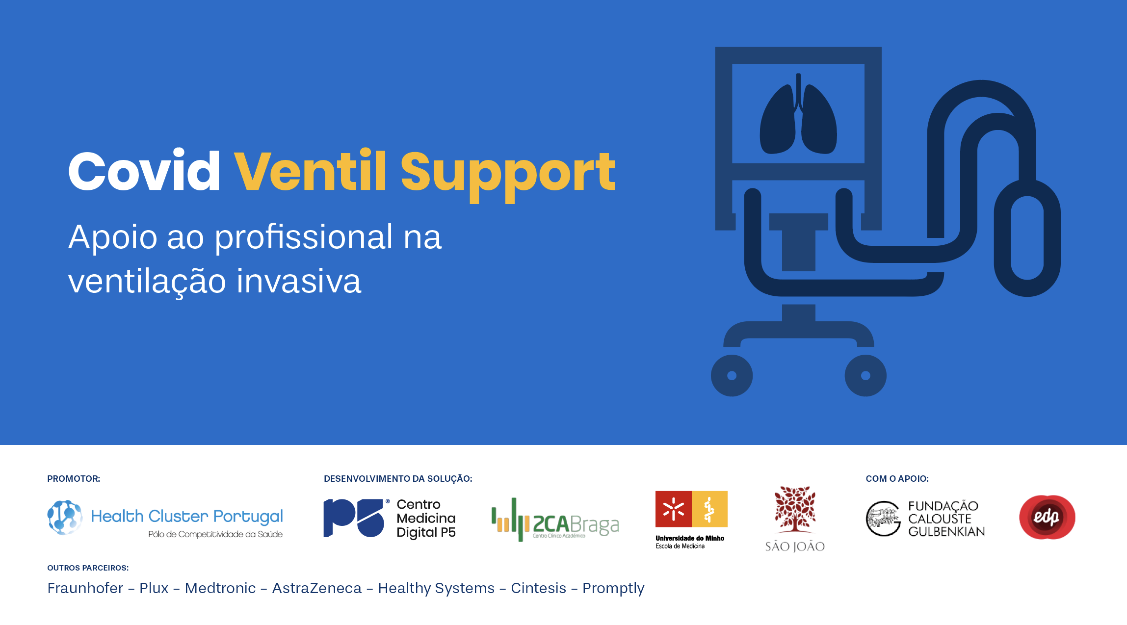 COVID Ventil Support